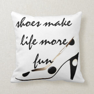 Cute Shoes Decor Pillow