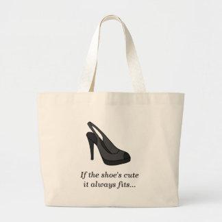 Cute Shoes Jumbo Tote Bag
