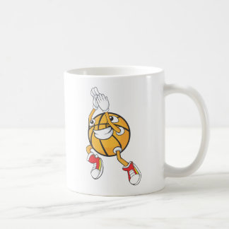 Cute Shooting Basketball Jump Shot Coffee Mug
