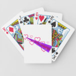 Cute Shooting Hearts Bicycle Card Decks