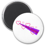 Cute Shooting Hearts Magnet