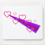 Cute Shooting Hearts Mouse Pad