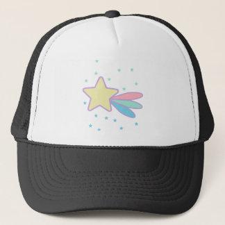 Cute Shooting Star Comet Trucker Hat