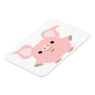 Cute Shorty Cartoon Pig Flexible Magnet