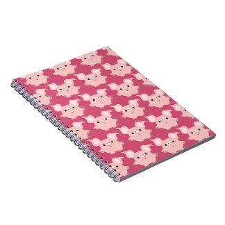 Cute Shorty Cartoon Pig Notebook