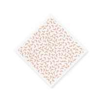 Cute shrimp customizable incl. background color paper napkin