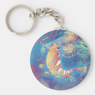 Cute Shrimp Keychain