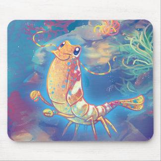 Cute Shrimp Mouse Pad