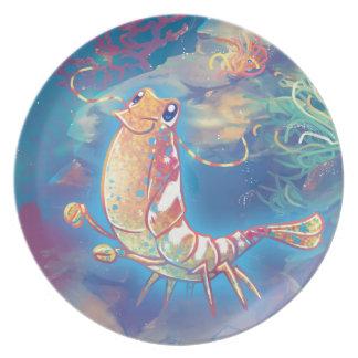 Cute Shrimp Plate