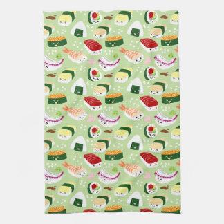 Cute Shushi Pattern Towels