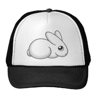 Cute Shy Bunny Mesh Hats