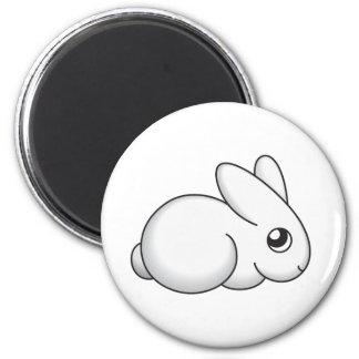 Cute Shy Bunny Refrigerator Magnet