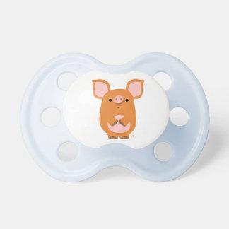 Cute Shy Cartoon Pig Pacifier