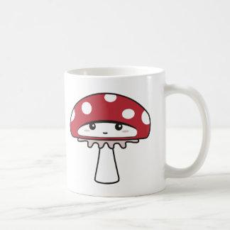Cute Shy Kawaii Toadstool Coffee Mug