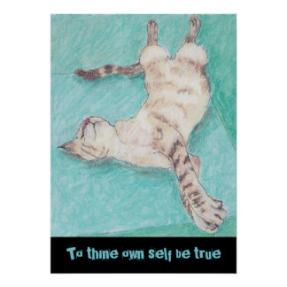 Cute siamese cats drawings quotes shakespeare poster