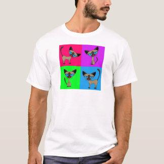 Cute Siamese Cats T-Shirt