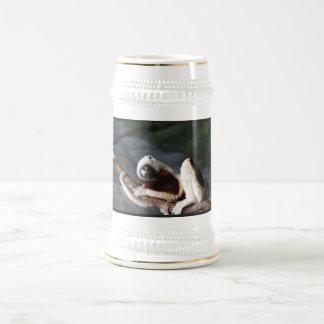 Cute Sifaka Lemur Beer Stein Mug