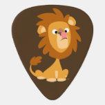 Cute Silly Cartoon Lion Guitar Pick