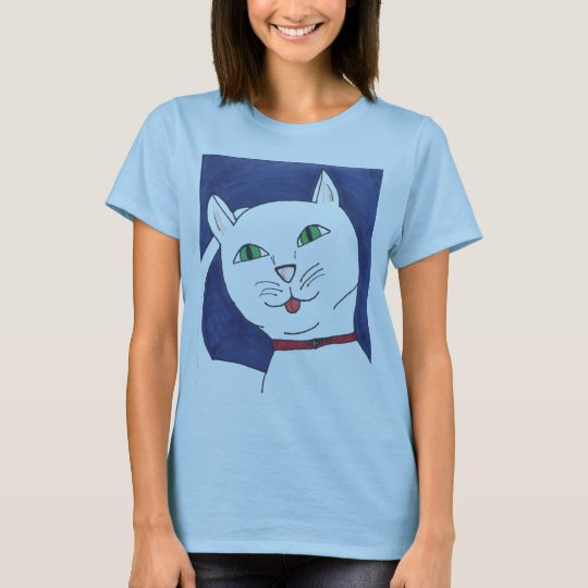 Cute Silly Cat T-Shirt