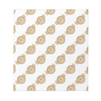 Cute Silly Monkey Face Memo Notepads