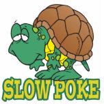 cute silly slow poke turtle cartoon photo cut out