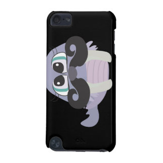 cute silly walrus cartoon with mustache iPod touch 5G cases