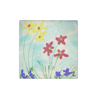 Cute & Simple Naive Kitchen Refrigerator Art Stone Magnet