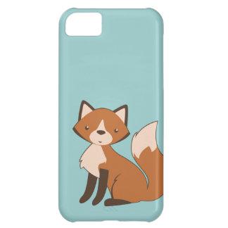 Cute Sitting Fox iPhone 5C Cases