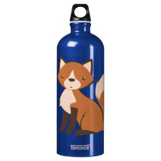Cute Sitting Fox SIGG Traveler 1.0L Water Bottle