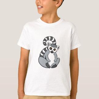 Cute Sitting Ring-Tailed Lemur T-Shirt