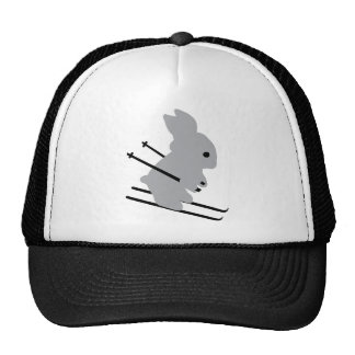 cute ski bunny  snow skiing hats