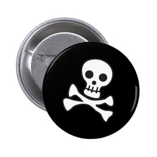 Cute Skull 2 Inch Round Button