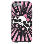 Cute Skull and Crossbones iPhone 6 Case