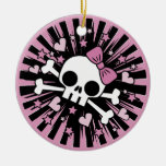 Cute Skull and Crossbones Ornaments