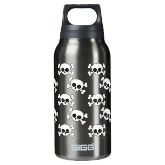 Cute Skull and Crossbones Thermos Water Bottle
