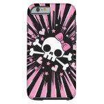 Cute Skull and Crossbones Tough iPhone 6 Case