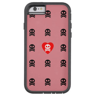 Cute Skull and Crossed Bones Tough Xtreme iPhone 6 Case