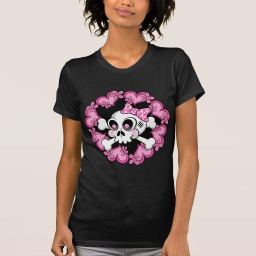 Cute Skull and Hearts Shirt