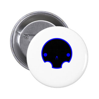 cute skull design pinback buttons