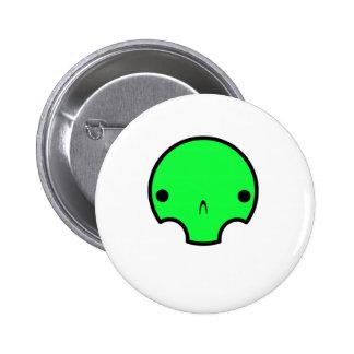 cute skull design buttons