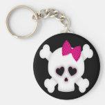 Cute Skull Key Chain