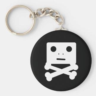 Cute Skull Keychain
