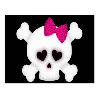 Cute Skull Postcard