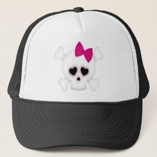 Cute Skull Trucker Hat