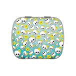 Cute Skulls And Stars Pattern Candy Tin