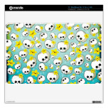 Cute Skulls And Stars Pattern Decal For The MacBook