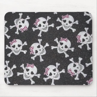Cute Skully Mouse Pad