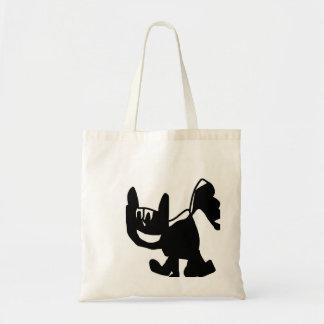 Cute skunk handbag tote bags