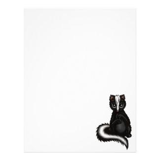 cute Skunk Letterhead