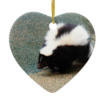 Cute Skunk  Ornaments
